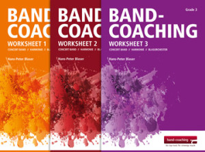 Band Coaching Worksheets 1 - 3